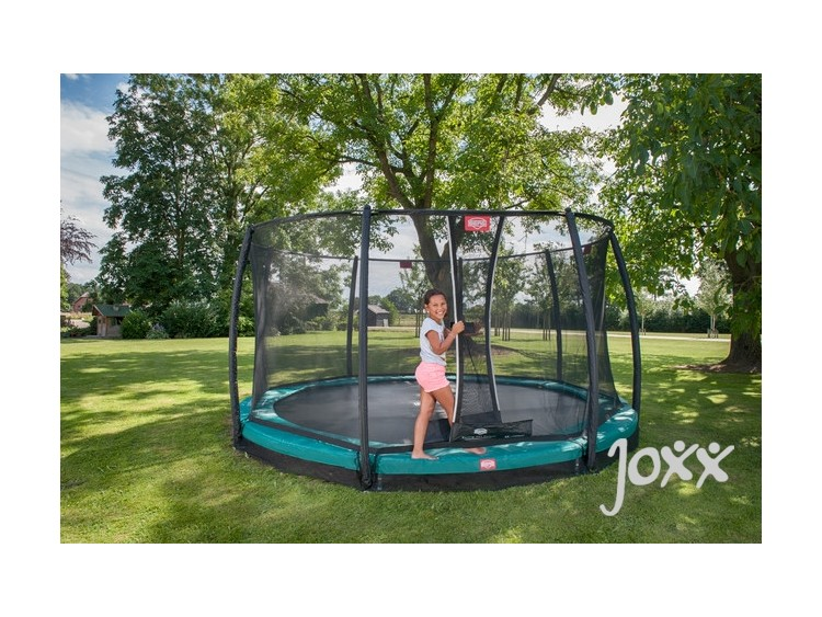 Berg inground champion groen 270 safety net deluxe 270 joxx - Sfeer berg ...